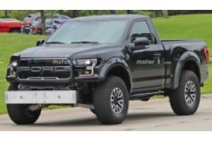 Ford F150 Raptor с короткой колёсной базой или тщательная маскировка Ford Bronco