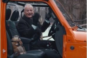 Jeep Gladiator увозит Билла Мюррея на «День сурка» в рекламе Jeep Super Bowl LIV