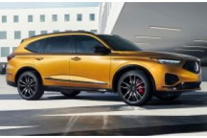 Большой внедорожник Acura MDX Type S получает 355-сильный V-6
