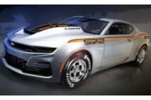 8-цилиндровый двигатель Chevy COPO Camaro 2022 года набирает обороты