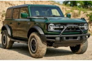 Ford Bronco 2022 года получает зеленый цвет Eruption