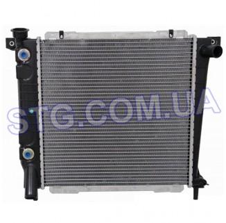 Картинка Радиатор Охлаждения TYC 1164-TYC