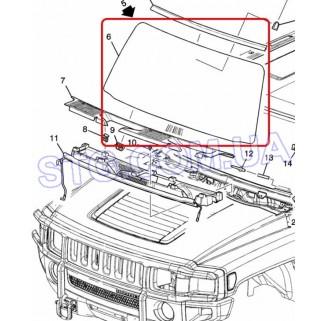 Картинка Стекло лобовое GM 15900257