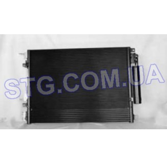 Картинка Радиатор кондиционера TYC 3237-TYC
