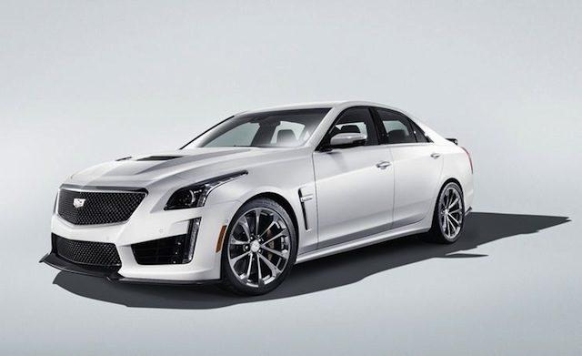 Cadillac CTS-V Glacier edition