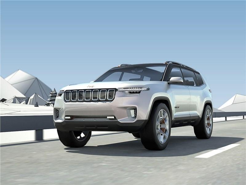 Jeep Yuntu front