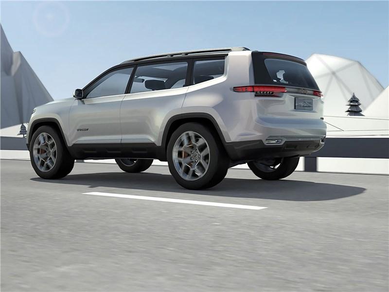 Jeep Yuntu rear